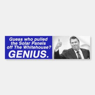 Anti-Reagan bumper sticker