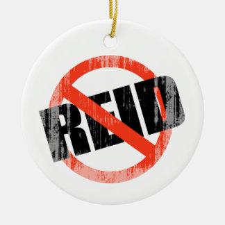 Anti-Reid Faded png Christmas Tree Ornaments