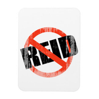 Anti-Reid Faded png Rectangle Magnet