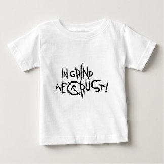 Anti-religión de la Anti-policía de la anarquía Playera De Bebé