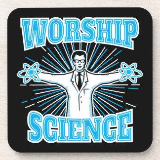 Anti-Religión divertida del friki y del ateo de la Posavasos De Bebida