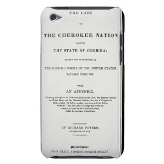 Anti-removal tract, by Cherokee Nation, in reponse iPod Case-Mate Case