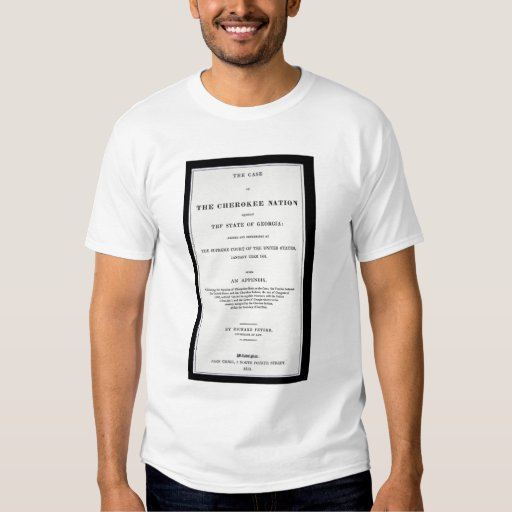 Anti-removal tract, by Cherokee Nation, in reponse T-Shirt