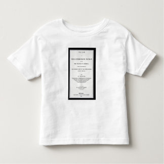 Anti-removal tract, by Cherokee Nation, in reponse Toddler T-shirt