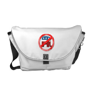 Anti-Republican 3D Faded.png Commuter Bags