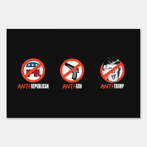 Anti gun signs