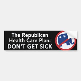Anti Republican Bumper Sticker