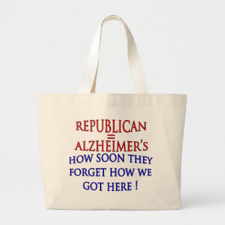 Anti-Republican Political How Soon They Forget Canvas Bag