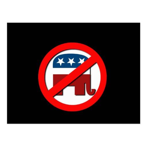 Anti-Republican Post Card