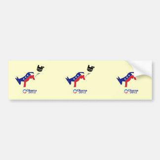"Anti-Republican, Pro-Democrat, ""republicans ruinin Bumper Sticker"