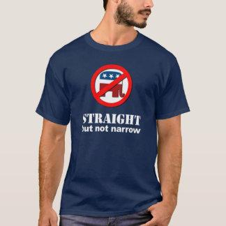 Anti-Republican - Straight but not narrow T-Shirt