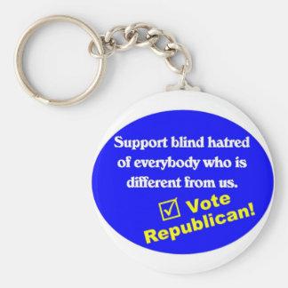 Anti Republican T-shirt Key Chains