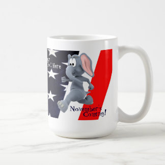 Anti Republican Version Stars and Stripes Mug