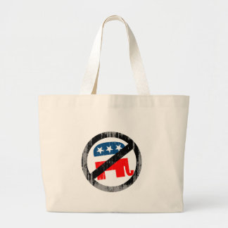 Anti-Republican white Faded.png Bags