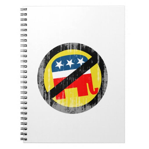 Anti-Republican yellow Faded.png Note Book