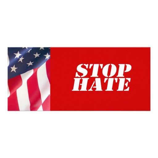 Anti-Republicano - pare el odio Diseños De Tarjetas Publicitarias