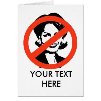 ANTI-RICE: ANTI-Condi Rice Card