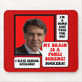 anti Rick Perry Mouse Pad