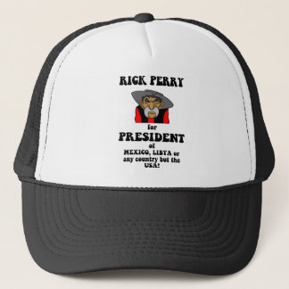 anti Rick Perry Trucker Hat
