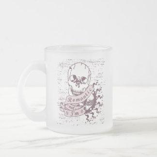 Anti Romantic 3 Frosted Glass Coffee Mug