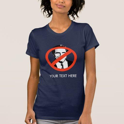ANTI-ROMNEY: Anti-Mitón Romney T-shirts
