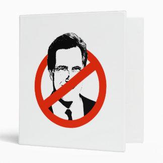 Anti Romney Vinyl Binders