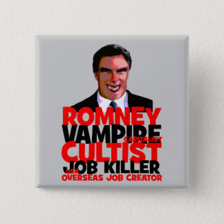 anti Romney Button