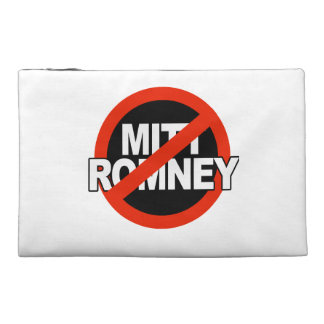 Anti Romney Cross Circle - png Travel Accessories Bags