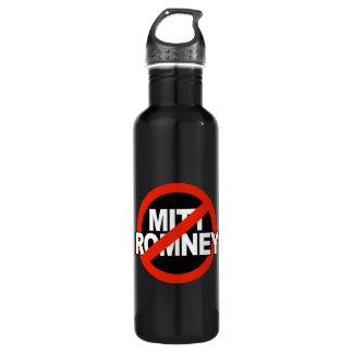 Anti Romney Cross Circle -.png 24oz Water Bottle