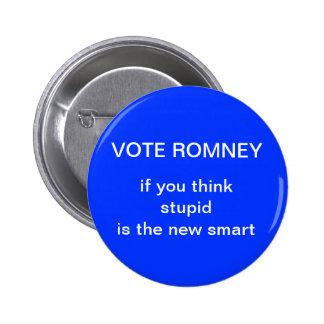 anti-romney election button