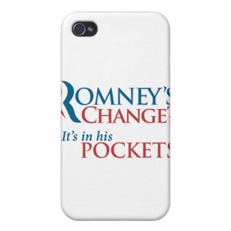 Anti-Romney iPhone Cover Case For iPhone 4