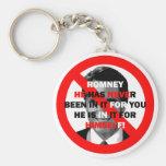 anti Romney Key Chain