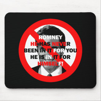 anti Romney Mouse Pad