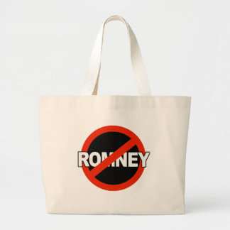 Anti Romney Name -.png Canvas Bag