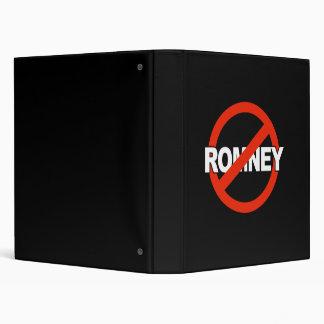 Anti Romney Name -.png 3 Ring Binders