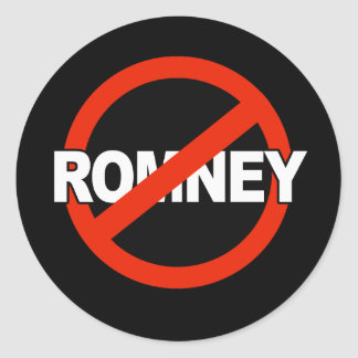 Anti Romney Name -.png Stickers