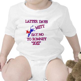Anti Romney- No Romney 2012 Romper
