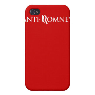 ANTI-ROMNEY.png iPhone 4 Cover
