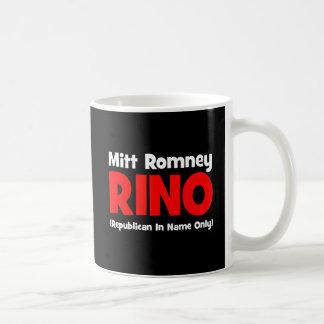 anti Romney RINO Coffee Mugs