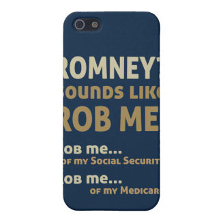 "Anti Romney ""Romney sounds like Rob Me!"" Political iPhone 5 Case"