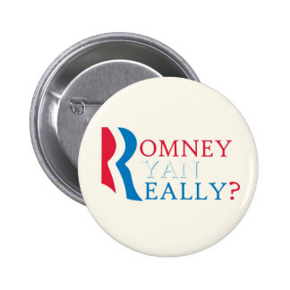 Anti-Romney Ryan Pinback Button