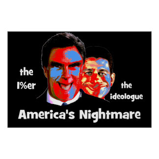 anti Romney Ryan Poster