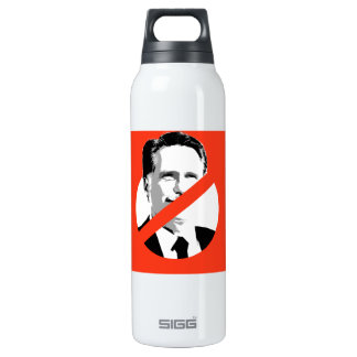 ANTI-ROMNEY 16 OZ INSULATED SIGG THERMOS WATER BOTTLE