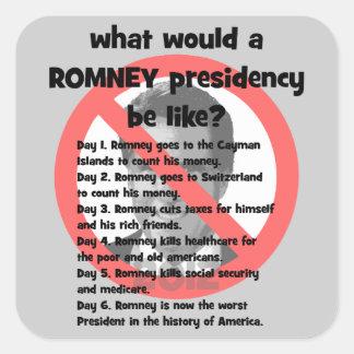 anti Romney Sticker