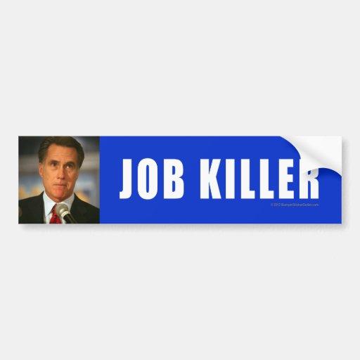 Anti-Romney sticker Killer Car Bumper Sticker