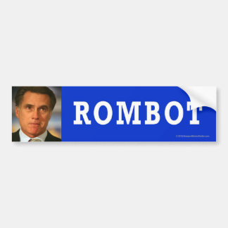 Anti-Romney sticker Rombot