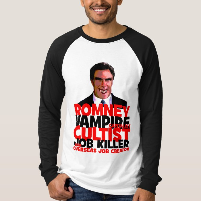 anti Romney T-Shirt