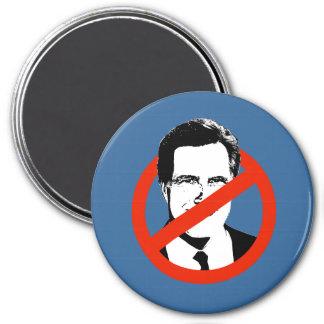 Anti Romney Transparent 3 Inch Round Magnet