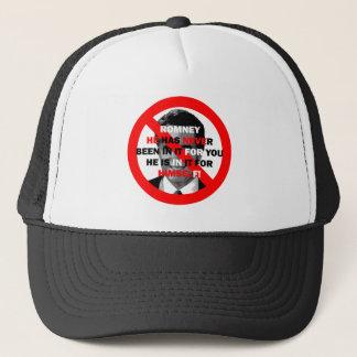 anti Romney Trucker Hat