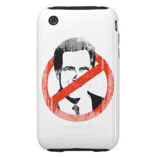 Anti Romney White.png iPhone 3 Tough Cases